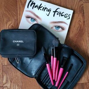CHANEL Makeup bag.